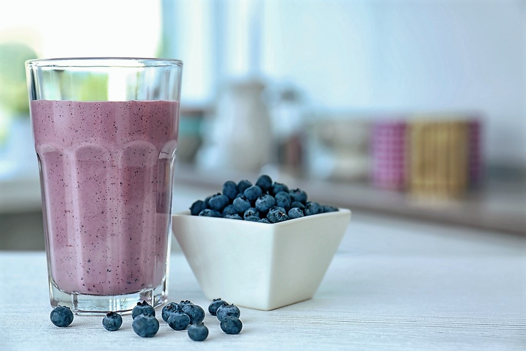 Maca and Blueberry Smoothie Delicious Recipe