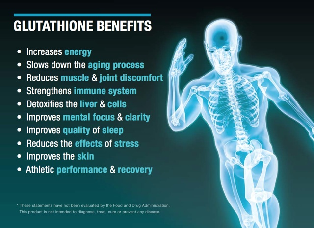 L-Glutathione Health Benefits