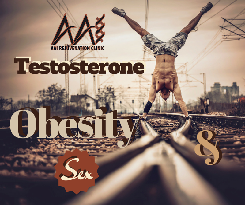Weight affects testosterone levels