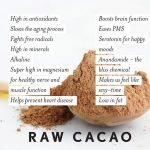 The Health Benefits Of Raw Cacao