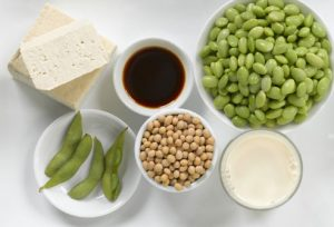 Hormone and Diet , soy foods